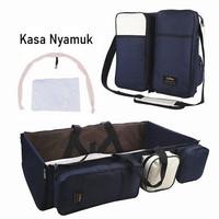 PROMO Tas Multifungsi Tempat Tidur Bayi Portable Import-Tas Tidur Bayi