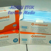 Altamed Masker Earloop isi 50 pcs/box
