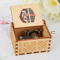 Kotak Musik La Casa De Papel Ciao Bella Money Heist Wooden Music Box