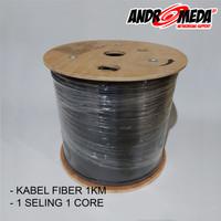 Kabel Fiber Optic 1 core 1 rol, 1km atau 1000m