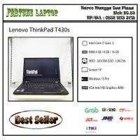 Lenovo ThinkPad T430s |Core i7-Gen 3 |VGA Intel |Camera - RAM 8-HDD 500