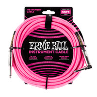 Ernie Ball 6078 Straight / Angle Instrument Cable 3,05 meter