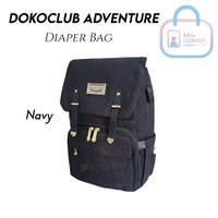 Tas Perlengkapan Bayi Dokoclub Original Adventure Import Diaper Bag