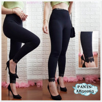 AB50263 Celana Panjang Legging Leging Fashion Wanita Korea Import