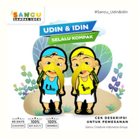 Sandal Karakter Anak Lucu Sandal Sancu Model Idin Udin