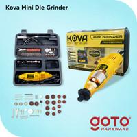 Kova X-40 Yellow Mini Die Grinder Set 40 Pcs Gerinda Bor Turner