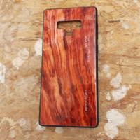 WoodGrain Glass Case Samsung Galaxy Note9 Note 9 SamsungNote9 Casing