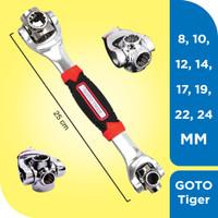 Goto Tiger Wrench Ukuran Indonesia 48 In 1 Kunci Universal Sok