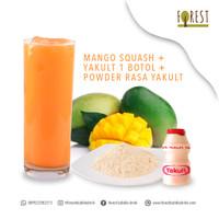 BUNDLING HEMAT - Bubuk Minuman MANGO SQUASH+Powder Rasa YAKULT