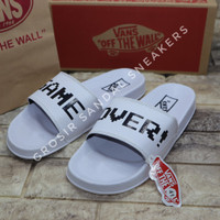 Sandal Karet Sintetis Model Vans game over Premium Terlaris Termurah - 39