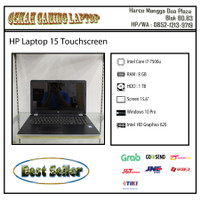 HP Laptop 15 |Core i7-Gen 7 |RAM 8 GB |HDD 1 TB |Camera