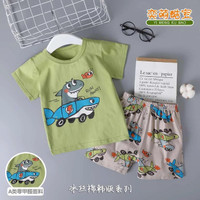 Setelan baju anak import / perempuan / laki laki / motif karakter - 4-5th