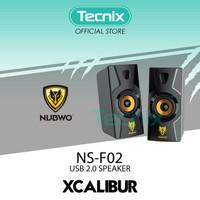 Nubwo NS-F02 USB 2.0 Speaker XCALIBUR Output Power : 3W x 2