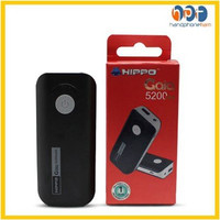 Powerbank HIPPO Gaia 5200mAh / Power bank HIPPO Original - Simple Pack