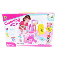 Mainan Anak Cleaning Car 666-86 - Sapu Sapuan