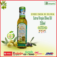 Casa Di Oliva For Kids Bayi - EVOO Baby Olive Oil Minyak Zaitun 250ml