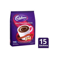 cadbury hot chocolate drink 3in1 (15x@30gr)