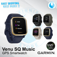 Garmin Venu SQ Music / Smartwatch Garmin Square - Garansi Resmi TAM