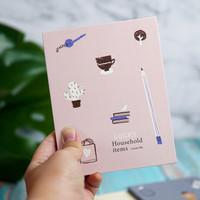 Cermin Kaca Lipat Korea Portable Untuk Make Up Motif Lucky Premium