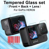 Tempered Glass Gopro Hero 9 Screen Protector Anti Gores