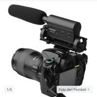 Takstar SGC-598 SGC598 Stereo Microphone For DV Or DSLR Black VideoMic