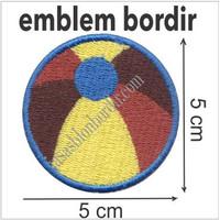 Emblem Bordir Bola Bola1