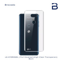 HYDROGEL SCREEN PROTECTOR CLEAR ANTI GORES LG V40 THINQ BELAKANG