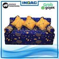 Sofa Bed Busa INOAC 200x160x15 cm Garansi 10th Khusus Tangerang
