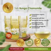 Teh Bunga Chamomile Herbal Relaksasi kaya Antioksid untuk insomnia