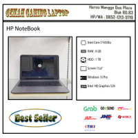 HP Laptop 15 |Core i7-Gen 6 |RAM 8 GB |HDD 1 TB | Camera