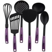 010O Kitchen Tools Nylon Spatula Oxone OX-953 ( Ungu)