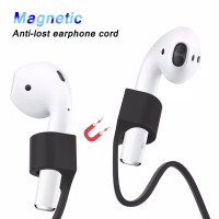 Apple Airpods Anti Lost Strap Loop Magnetic Rope Silicone Magnet