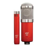 MXL 550/551 - Dual Condenser Recording Microphone Kit
