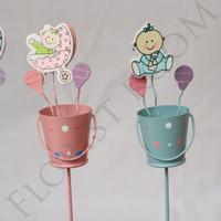 Artificial Bucket (3) - Hiasan - dekorasi Rumah - hampers- mainan bayi