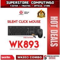 Fantech WK893 Keyboard Mouse Wireless Combo 2.4Ghz Silent Click