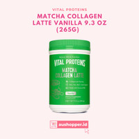 VITAL PROTEINS Matcha Collagen Latte Vanilla 9.3 OZ (265g) - 100% ORI