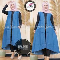baju cardigan wanita outerwear muslim. Luna. asli keren cantik