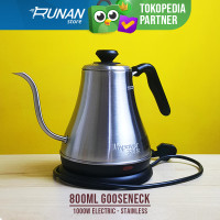 Impower Teko Leher Angsa Electric - Gooseneck Kettle Listrik 800ml