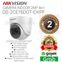 HIKVISION DS-2CE76D0T-EXIPF 2MP KAMERA INDOOR CCTV / DS-2CE76DOT-EXIPF