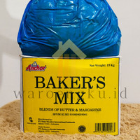 ANCHOR Baker's Bakers Mix Butter - Margarine 1kg 1000gr REPACK