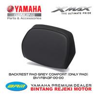 BACKREST PAD GREY COMFORT (ONLY PAD) YAMAHA XMAX 250 / 300