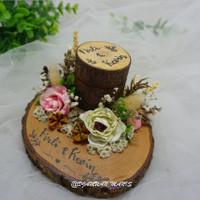 Cincin Rustic/Kotak Cincin/Hantaran/Seserahan/Lamaran/Pernikahan