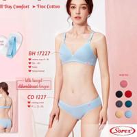 SOREX Bra Soft & Comfort 17227 Busa Tanpa Kawat Setara CUP A-B