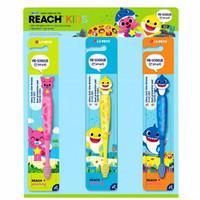 Tooth brush Pinkfong Baby Shark original 3-6 years / sikat gigi anak