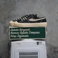 Sepatu Compass Gazelle 98 Vintage Low Black