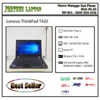 Lenovo ThinkPad T420 |Core i7-Gen 2 |VGA NVIDIA NVS (1 GB) |Camera - RAM 8-HDD 500