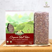 Beras Merah Organik 1kg / Organic Red Rice - Bionic Farm