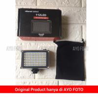 Video Lighting LED FT 112 Lampu Studio FT-112 fr Smartphone Ulanzi LED