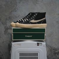 Sepatu Compass Gazelle 98 Vintage Hi Black