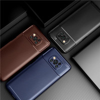 Case Xiaomi Poco X3 NFC Case Softcase Rugged Armor Original